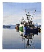 Auke Bay Reflection Fleece Blanket