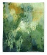 Aurora Borealis Abstract Fleece Blanket
