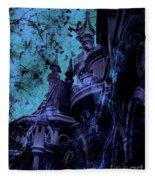 Aurora's Nightmare II Fleece Blanket
