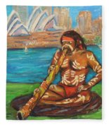 Aussie Dream I Fleece Blanket