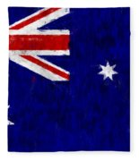 Australia Flag Fleece Blanket