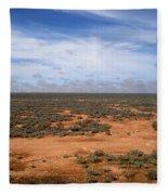 Australia Null Harbor Plain Fleece Blanket