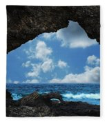 Australia Rock Fleece Blanket