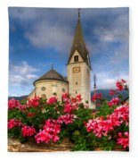 Austrian Church Fleece Blanket
