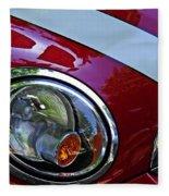 Auto Headlight 168 Fleece Blanket