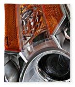 Auto Headlight 25 Fleece Blanket
