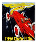 Automobile Club Catania Fleece Blanket