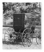 Automobile Duryea, 1893-94 Fleece Blanket