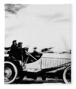 Automobile Racing, 1905 Fleece Blanket
