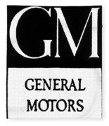 Automobiles Gm Logo Fleece Blanket