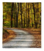 Autumn Beauty Fleece Blanket