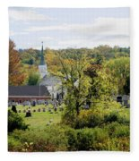 Autumn Blessings Fleece Blanket