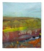 Autumn Bog Fleece Blanket