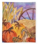 Autumn Bounty Fleece Blanket