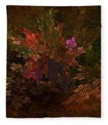 Autumn Bouquet Fleece Blanket