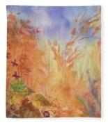 Autumn Breeze Fleece Blanket