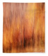 Autumn Canvas Fleece Blanket