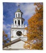 Autumn Church Fleece Blanket