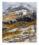 Autumn Clearning Fleece Blanket