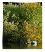 Autumn Colors 1 Fleece Blanket