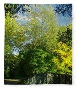 Autumn Colors 4 Fleece Blanket
