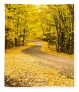 Autumn Colors Fleece Blanket