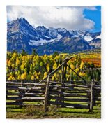 Autumn Corral Fleece Blanket