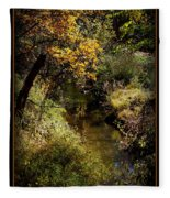 Autumn Creek Fleece Blanket