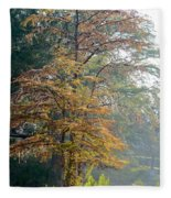 Autumn Cypress Fleece Blanket