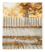 Autumn Day Fleece Blanket