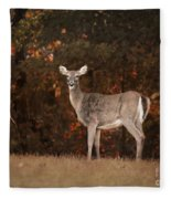 Autumn Doe Fleece Blanket