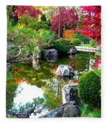Autumn Dream Fleece Blanket