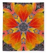 Autumn Equinox Fleece Blanket