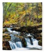 Autumn Falls  Fleece Blanket