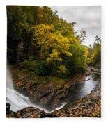 Autumn Flow Fleece Blanket