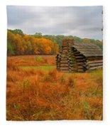 Autumn Foliage In Valley Forge Fleece Blanket