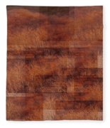 Autumn Forest Of The Northern Song  Fleece Blanket