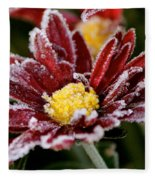 Autumn Frost Fleece Blanket