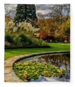 Autumn Garden Fleece Blanket