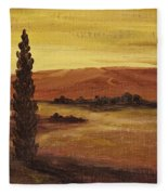 Autumn Glow Fleece Blanket