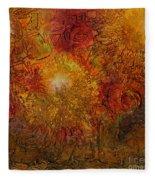 Autumn Glow - Wip Fleece Blanket