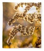 Autumn Goldenrod  Fleece Blanket