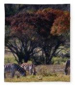 Autumn Grazing Fleece Blanket