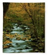 Autumn Greenbriar Cascade Fleece Blanket