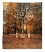 Autumn Guardians Fleece Blanket