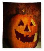 Autumn - Halloween - Jack-o-lantern  Fleece Blanket