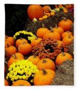 Autumn Harvest 6 Fleece Blanket