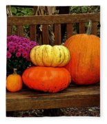 Autumn Harvest Fleece Blanket