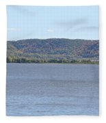 Autumn Haze Fleece Blanket