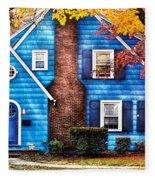 Autumn - House - Little Dream House  Fleece Blanket
